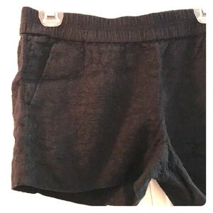 J.Crew black printed shorts